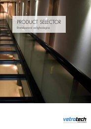 ProduCT SeLeCTor - Vetrotech Saint-Gobain