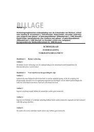Bijlage 3 - Vlaamse Gemeenschapscommissie