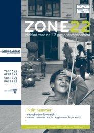 Zone 22 juli-augustus 07 (pdf) - Vlaamse Gemeenschapscommissie