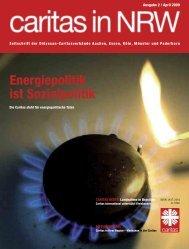 Energiepolitik ist Sozialpolitik - Caritas NRW