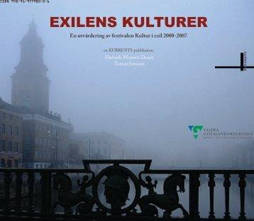 EXILENS KULTURER - Västra Götalandsregionen