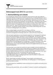 NU-sjukvården delårsrapport mars - Västra Götalandsregionen