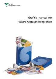 Grafisk manual för Västra Götalandsregionen