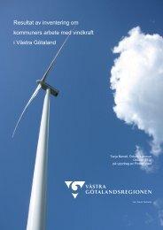 Power Väst rapport om inventering av kommunernas ...