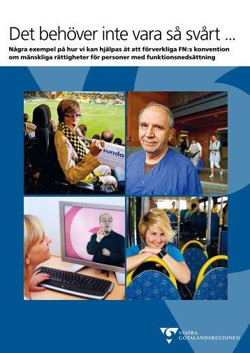 Det behöver inte vara så svårt (pdf, 866kB - Västra Götalandsregionen