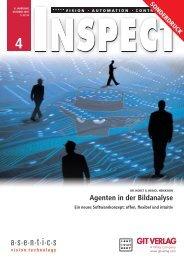 Agenten in der Bildanalyse - GIT Verlag