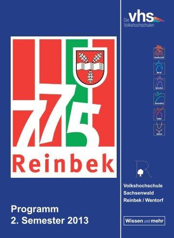 Gesundheit und Fitness - VHS Sachsenwald