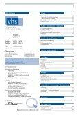 Programmheft 2013 / 2. Semester - download pdf-Datei - VHS Zeven - Page 3