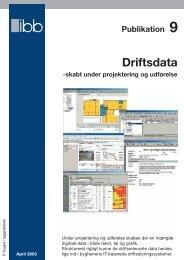Driftsdata – skabt under projektering og udførelse