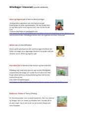 Billedbøger i klassesæt (opstillet alfabetisk)