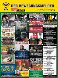 NEU! - Regensburger Stadtzeitung