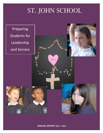 Annual Report 2011/2012 - St. John School