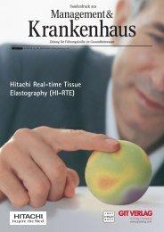 Hitachi Medical Systems - GIT Verlag
