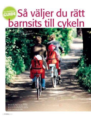 Cykelbarnsitsar - Vi Föräldrar
