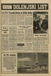 28. oktober 1965 (št. 814) - Dolenjski list