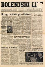 28. maj 1959 (št. 479) - Dolenjski list