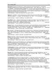 CJB - octobre 2005 1 Agriculture biologique en Martinique : quelles ...