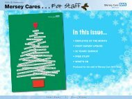In this issue... - Mersey Care NHS Trust