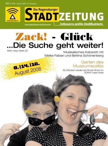 Download gesamte Ausgabe (PDF, 11958 kb) - Regensburger ...