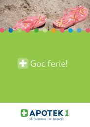 God ferie! - Apotek 1