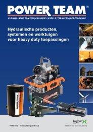 Hydraulische producten, systemen en werktuigen ... - Powerflex-fhp