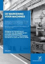 CE-MARKERING VOOR MACHINES - Vinçotte