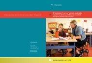 Arbeidsrisico's in het primair onderwijs ... - Inspectie SZW