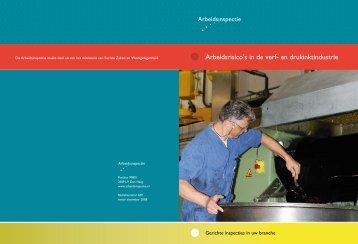 Arbeidsrisico's in de verf- en drukinktindustrie - Inspectie SZW