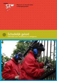 Schadelijk geluid: Informatie voor werknemers en ... - Inspectie SZW