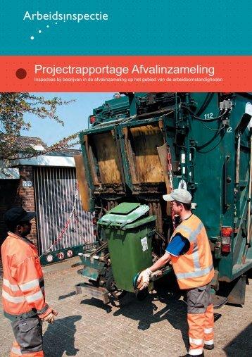 Inspecties bij bedrijven in de afvalinzameling op het ... - Inspectie SZW