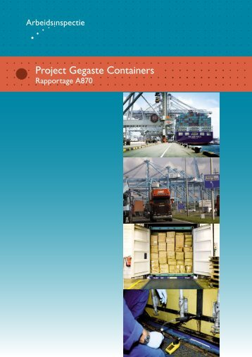 Gegaste Containers - schadelijke stoffen ... - Inspectie SZW