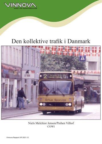 Den kollektive trafik i Danmark - Vinnova