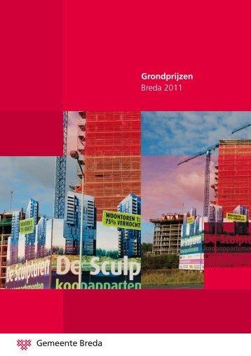Grondprijzen Breda 2011 - Gemeente Breda