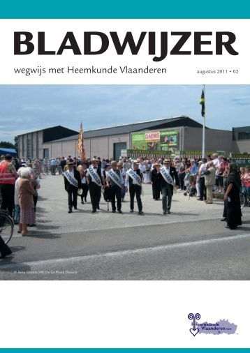 Bladwijzer - Heemkunde Vlaanderen