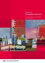 Kaderbrief - Gemeente Breda