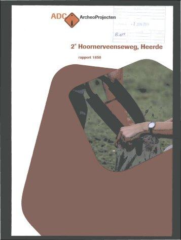 Bijlage 3 Archeologisch bureau- en ... - Gemeente Hattem