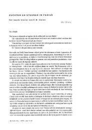 Zuchten en steunen in Parijs. Over E. M. Cioran - Krisis