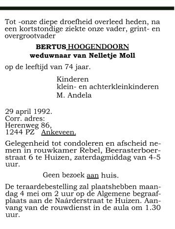 mei PDF - Historische Kring In de Gloriosa