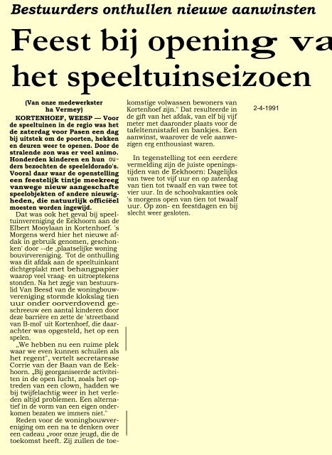 april PDF - Historische Kring In de Gloriosa