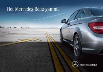 Het Mercedes-Benz gamma - Salon de l'Auto