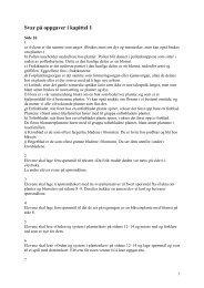 Natur og univers 2 - Svar på oppgaver i kapittel 1 - Cappelen Damm