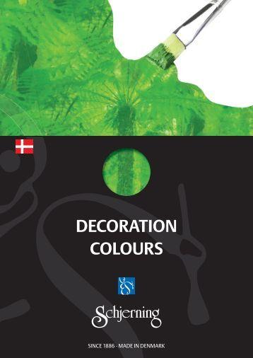 Decoration Colours