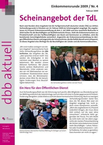 Scheinangebot der Tdl - Dphv Deutscher Philologenverband