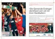 «Die Gemeinde Endingen identifiziert sich voll mit ... - Handballworld