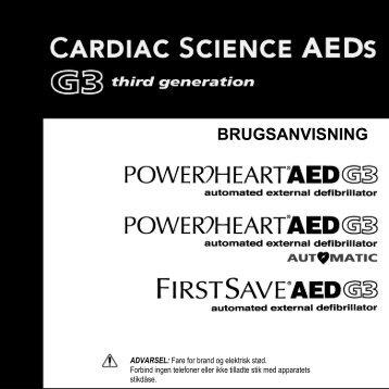 BRUGSANVISNING - Cardiac Science