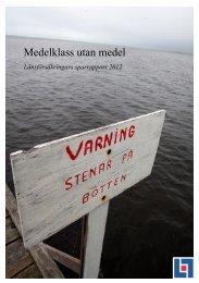 Till sparanderapporten juni 2012 - Länsförsäkringar