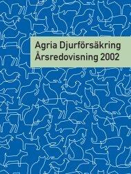 Agria_årsredovisning 2002.pdf - Länsförsäkringar