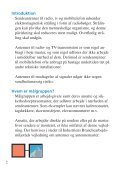 Mobiltelefoni – vejledning om arbejde i nærheden af sendeantenner - Page 4