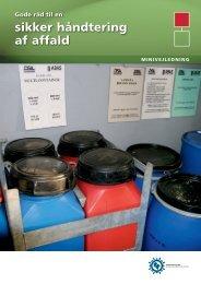 Hent Sikker håndtering af affald - Industriens Branchearbejdsmiljøråd