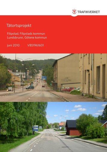 Trafikverkets rapport om Tätortsprojekt - Götene kommun
